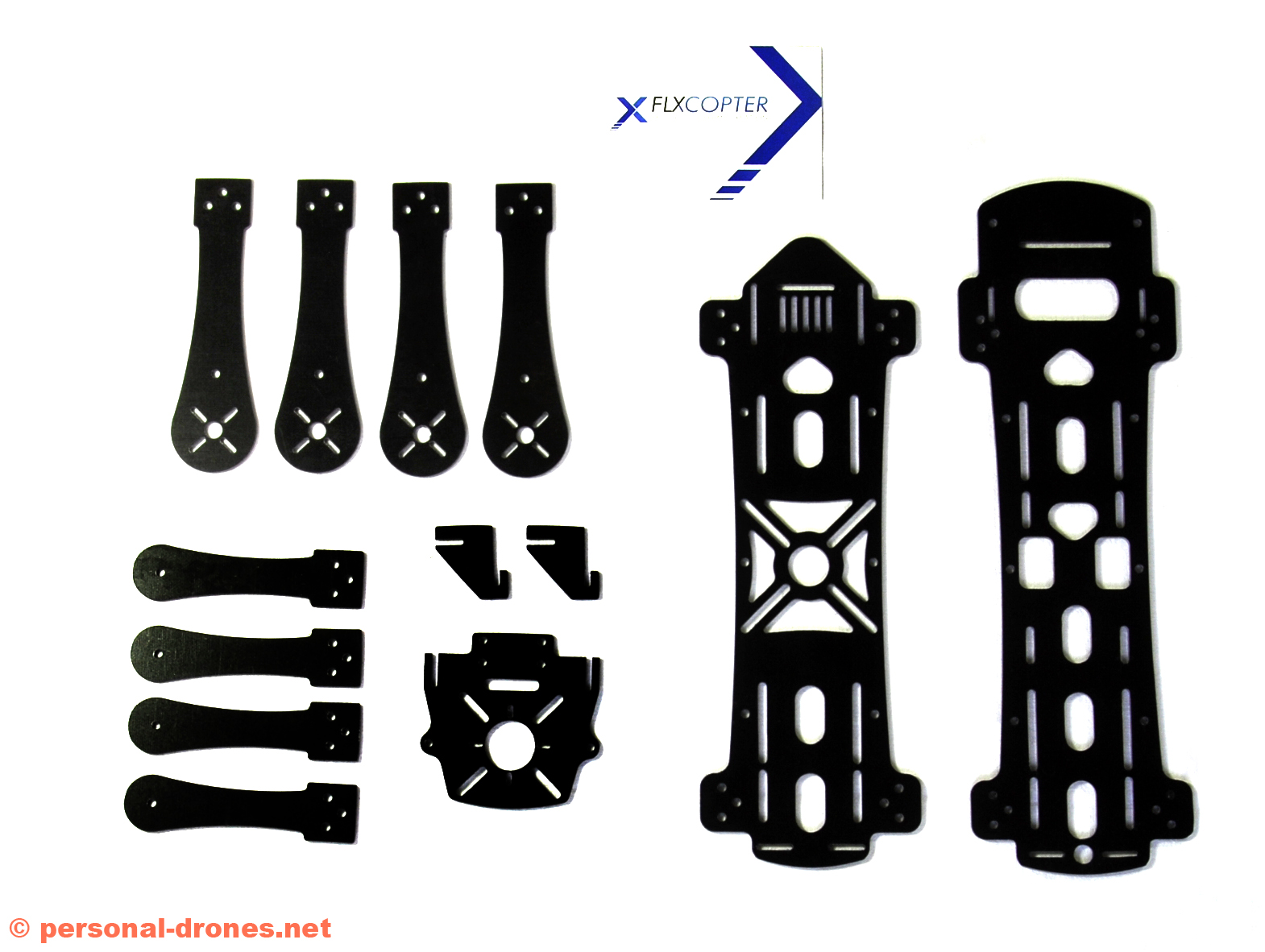 FlyXcopter frame parts