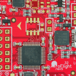 Acro Naze 32 rev5 Flight control board close up