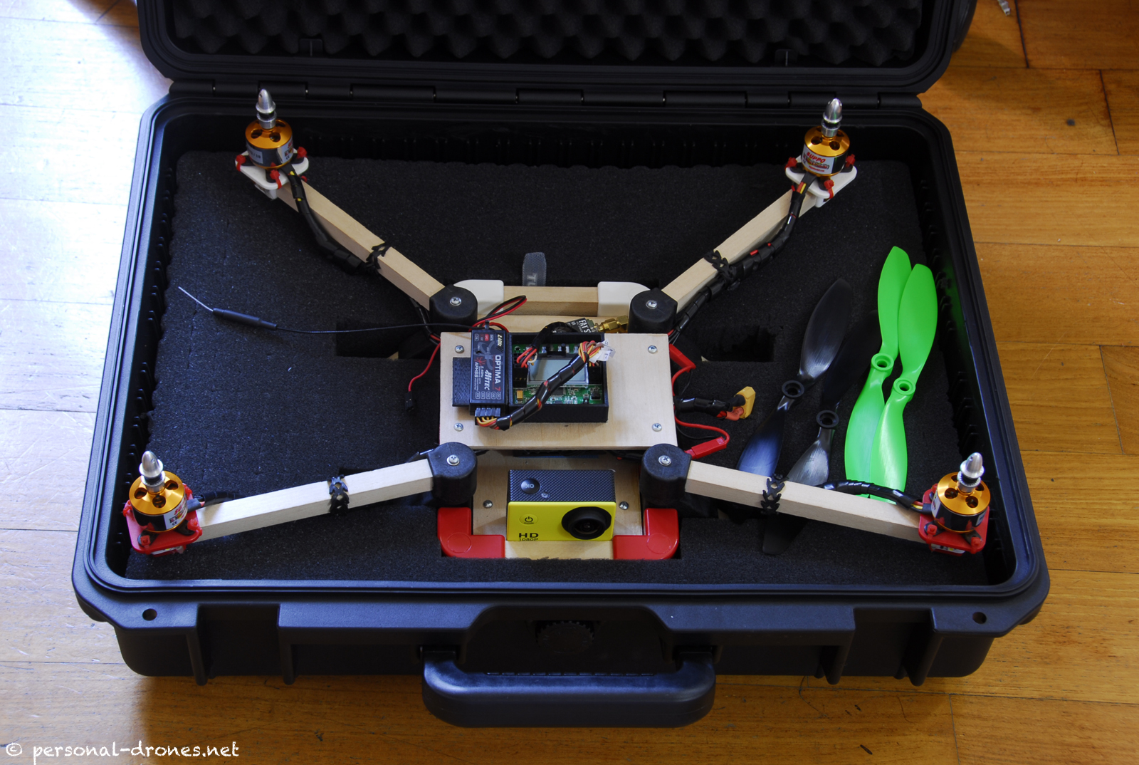 An hard case for the Quadlugs quadcopter