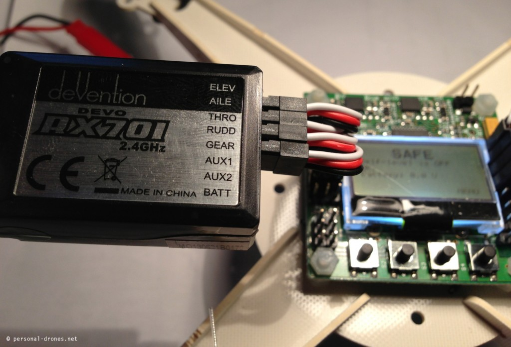 integrated-pcb-micro-quad-connected-to-receiver-devo-rx701