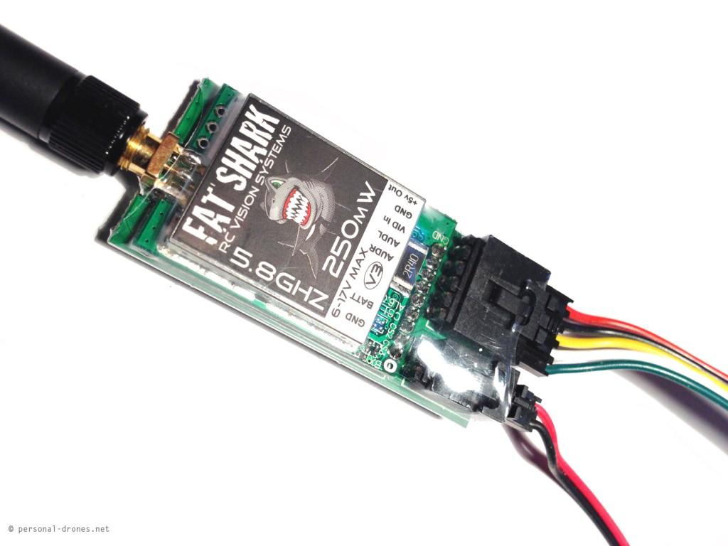 FatShark 250mW, 5.8GHz video transmitter