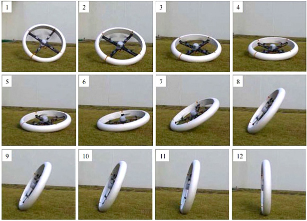 MUWA: Multi-Field Universal Wheel for Air-Land Vehicle with Quad Variable-Pitch Propellers