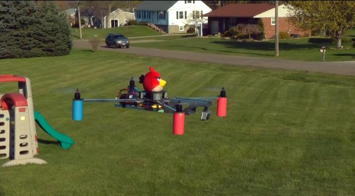 Quadcopter bird - Source