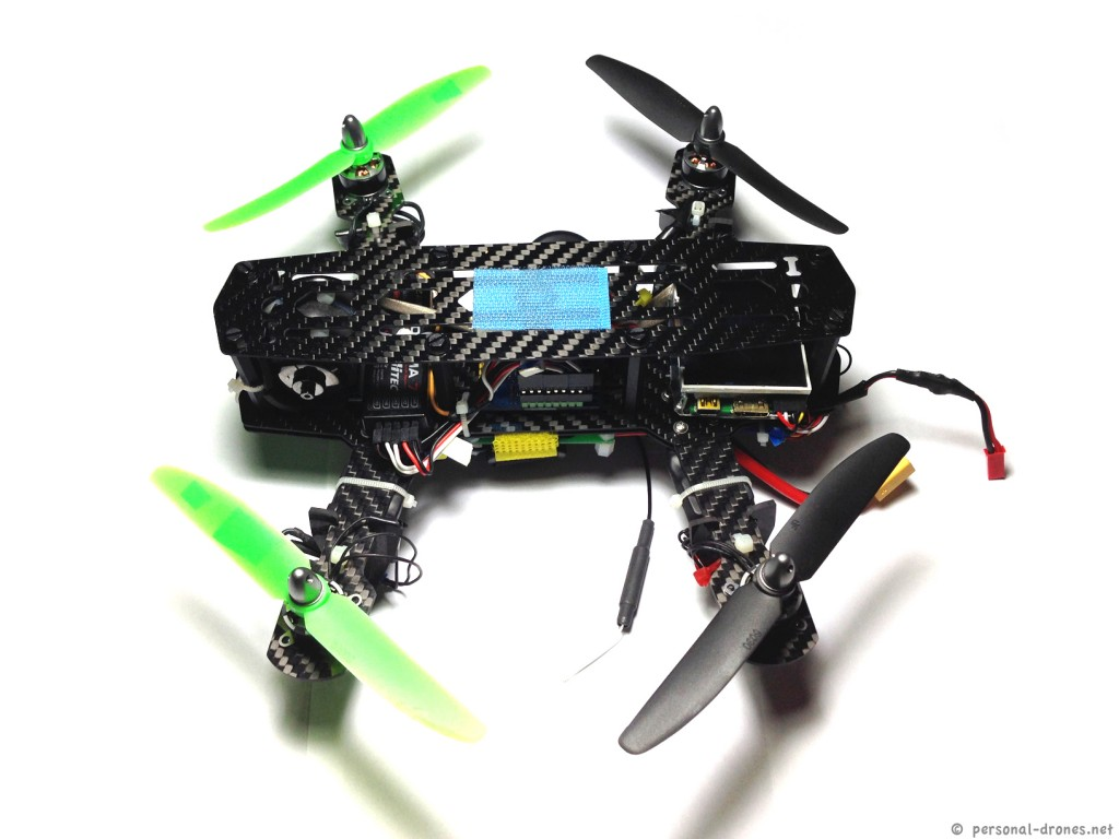 Mini H Quad, top view