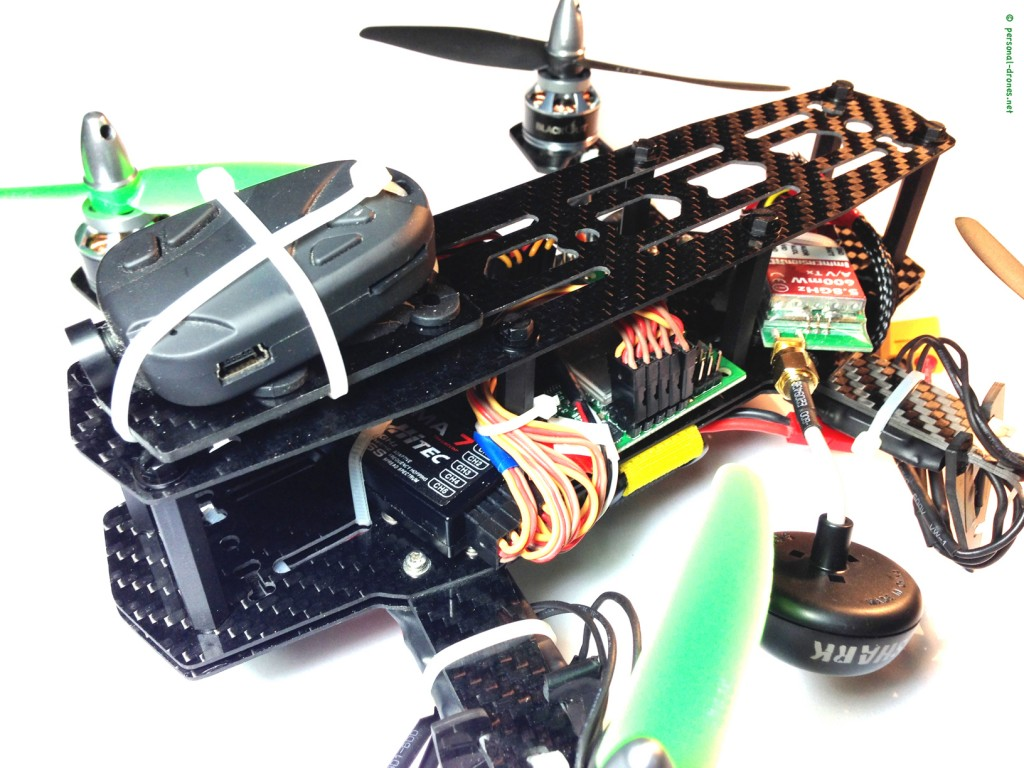 Mini H quad with 808 #16 camera instead of the Horizon HD V3 camera