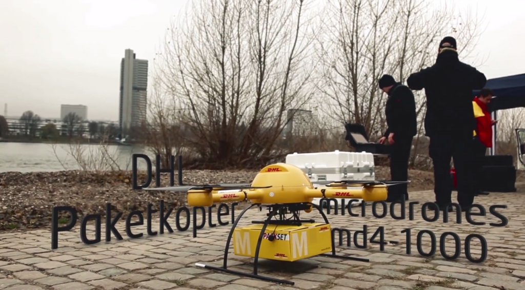 The DHL microdrone