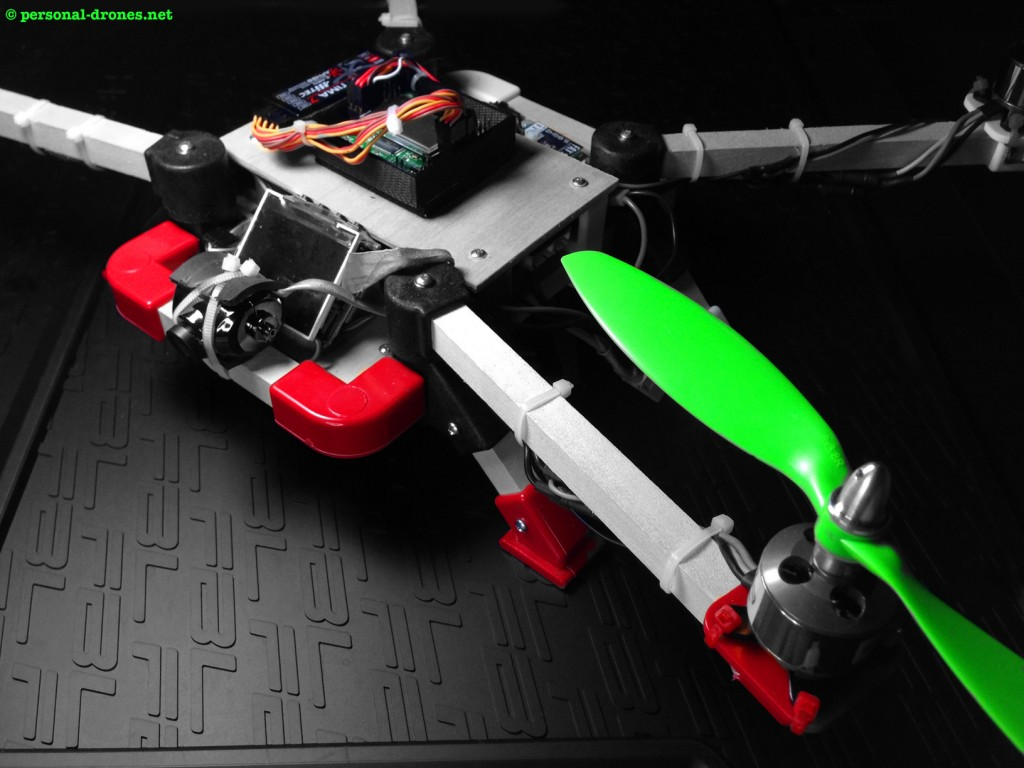 480 mm Quadlugs quadcopter for FPV