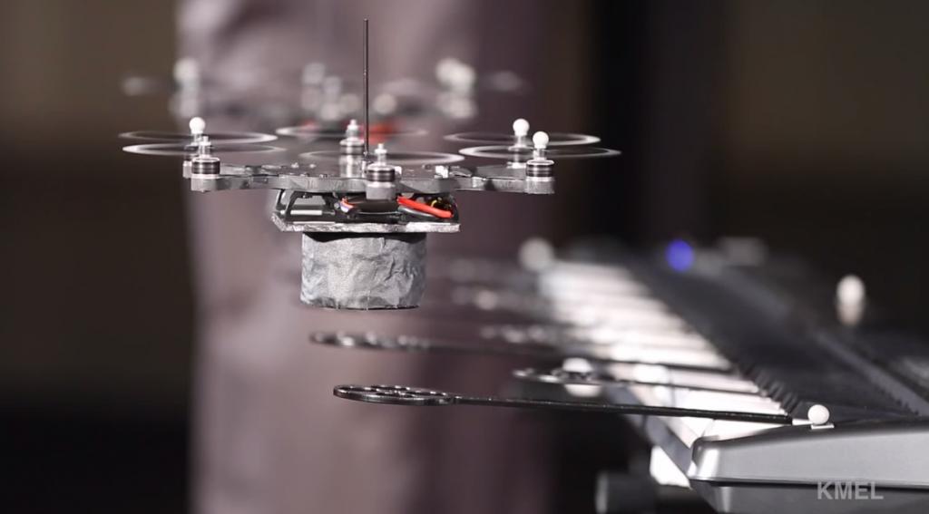Drone concert by Kmel Robotics