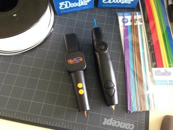 The 3Doodler air pen - Source