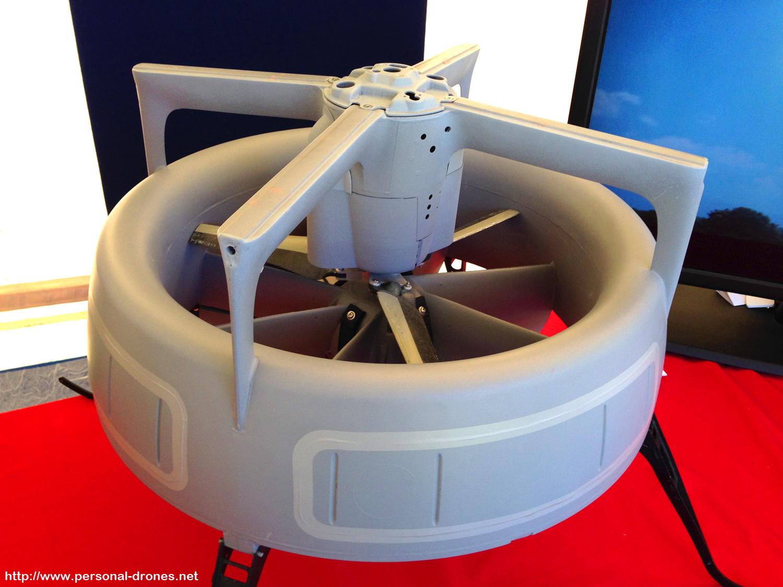 Selex monocopter drone