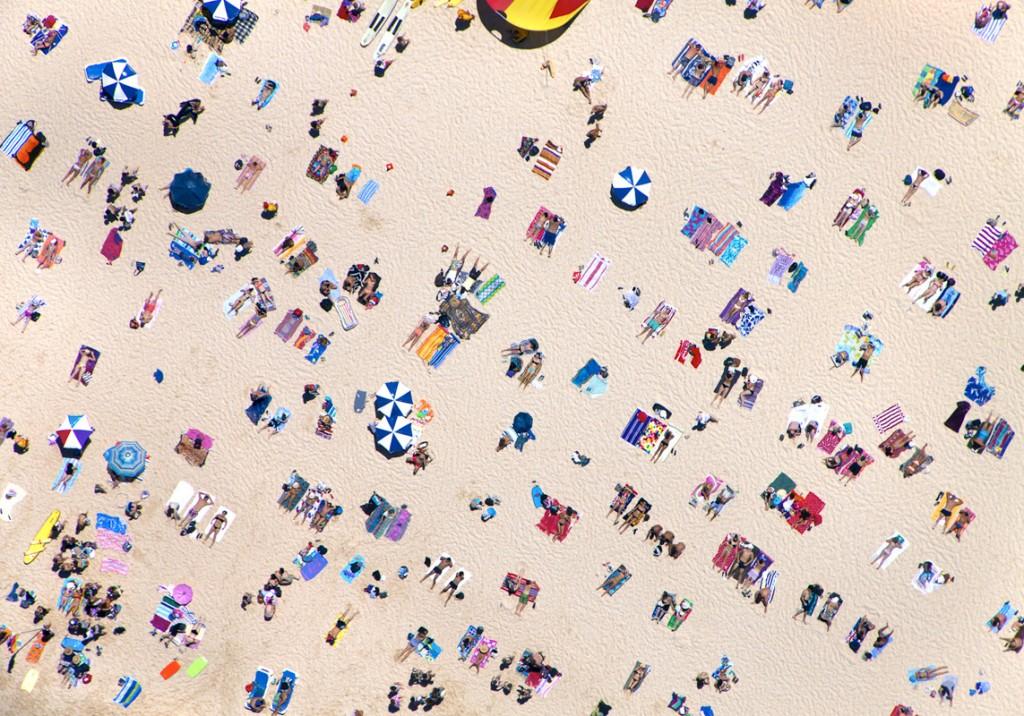 """""""A la plage"""" by Gray Malin"""