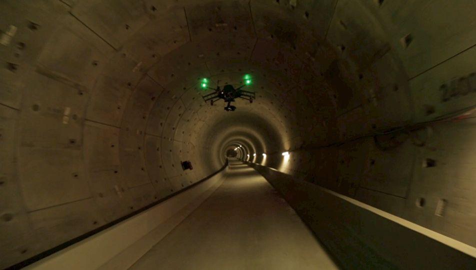 Underground Drone mission in Amsterdam Metro