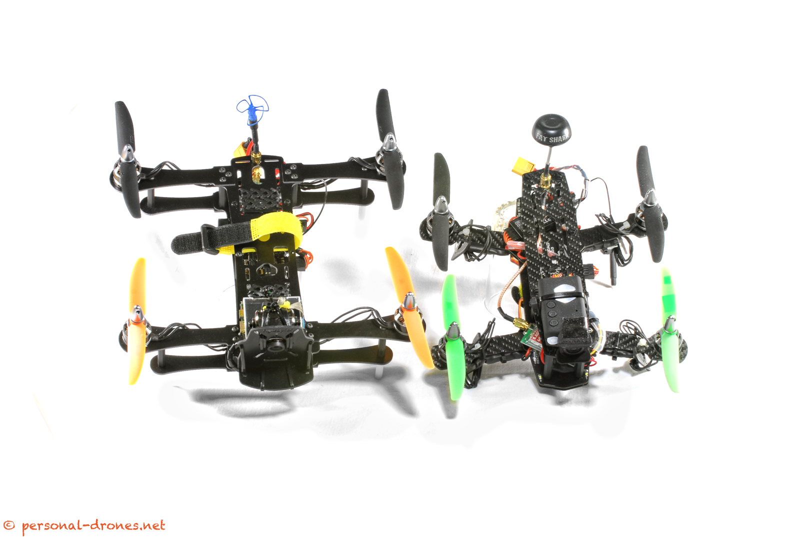 FlyXcopter FlyX-Mini vs Blackout Mini H Quad