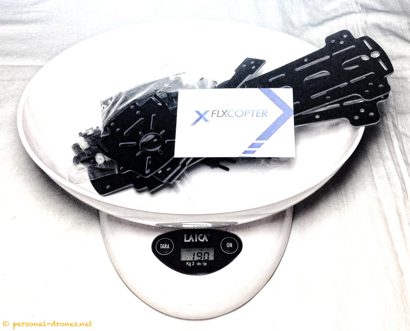 Frame weight: 190gr