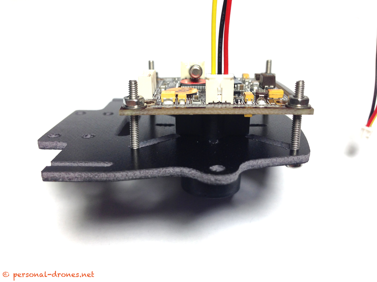 CCD camera on FlyXcoper camera mount