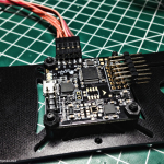 Fittng the AcroNaze32 on the FlyXcopter FlyX-Mini flight controller mount