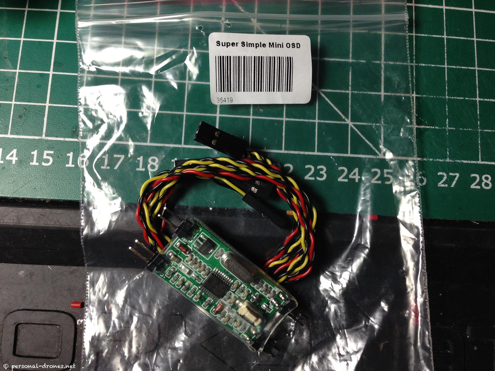 Super simple mini OSD