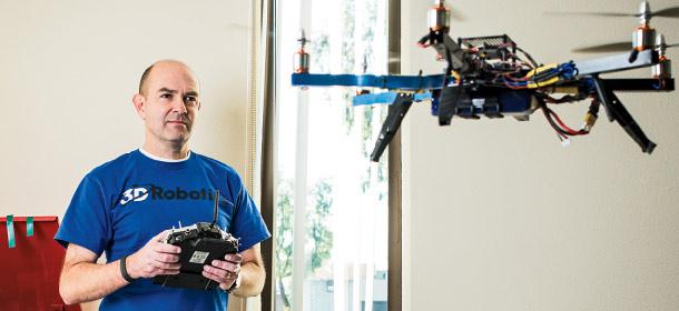 Chris Anderson, CEO of 3D Robotics