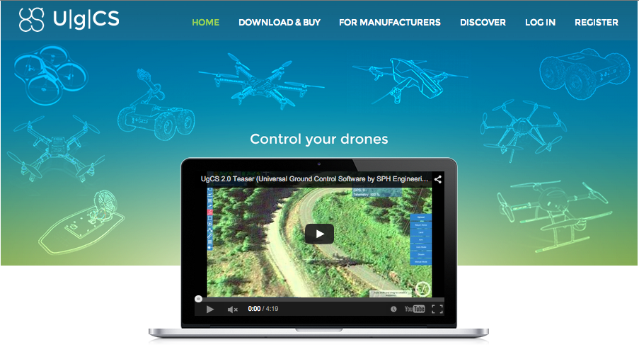 UgCS ground station software goes commercial | Personal Drones