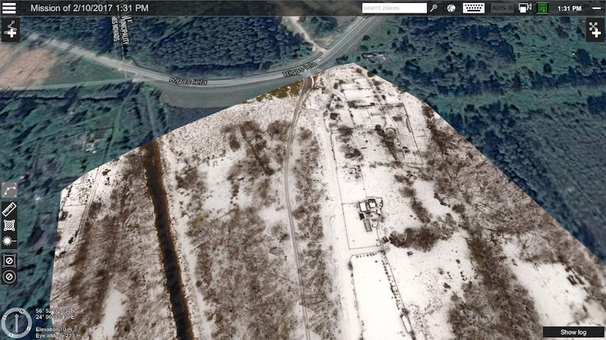 UgCS photogrammetry, map import