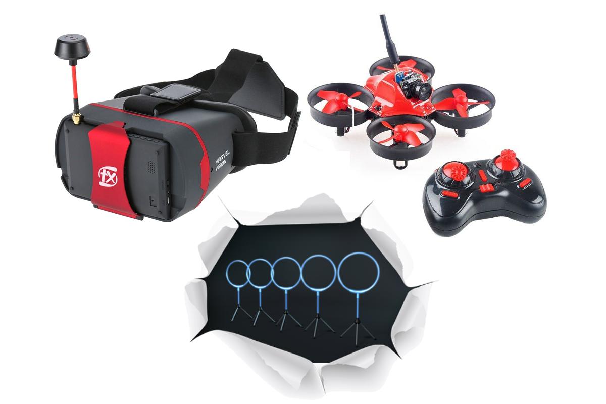 Aerix nano FPV drone kit