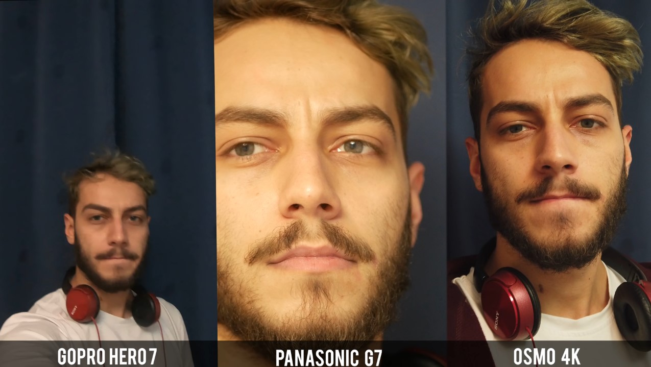 GoPro Hero7 vs Panasonic G7 vs Osmo Pocket